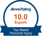 Avvo 10.0 Superb Top Attorney Personal Injury